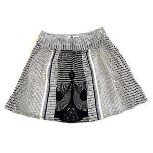 Anthropologie Edme & Esyllte Cotton A-Line Skirt